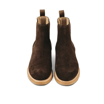 The Ranch Boot in Weatherproof Chocolate Suede: Alternate Image 15