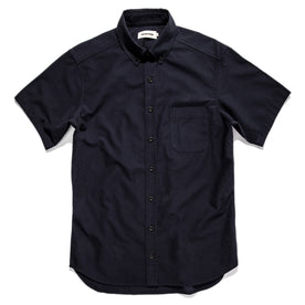 The Short Sleeve Jack in Indigo Dobby: Featured Image