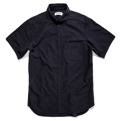 The Short Sleeve Jack in Indigo Dobby