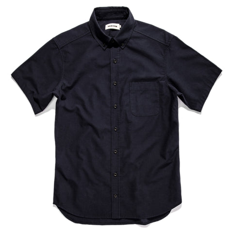 The Short Sleeve Jack in Indigo Dobby - featured image