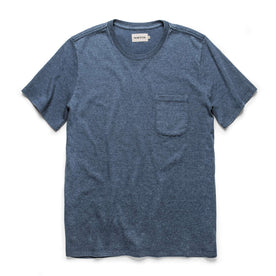 The Heavy Bag Tee in Dusty Blue: Featured Image