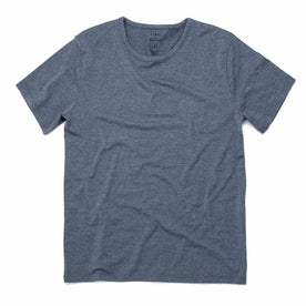 The Antoni Tee in Heather Blue: Featured Image