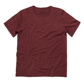 The Antoni Tee in Heather Brick: Featured Image