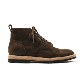 The Moto Boot in Espresso Grizzly: Featured Image