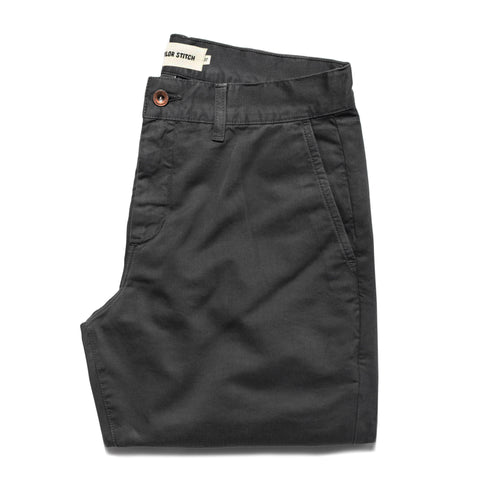 The Slim Chino in Charcoal - featured image