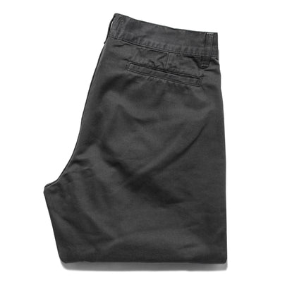 The Slim Chino in Organic Charcoal: Alternate Image 8