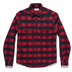 The Yosemite Shirt in Red Buffalo Plaid: Alternate Image 7