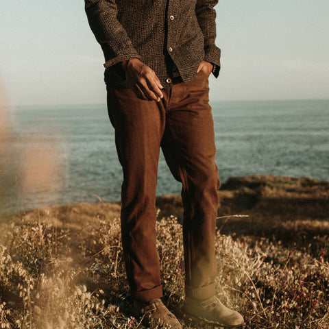 The Camp Pant in Timber Boss Duck - alternate view