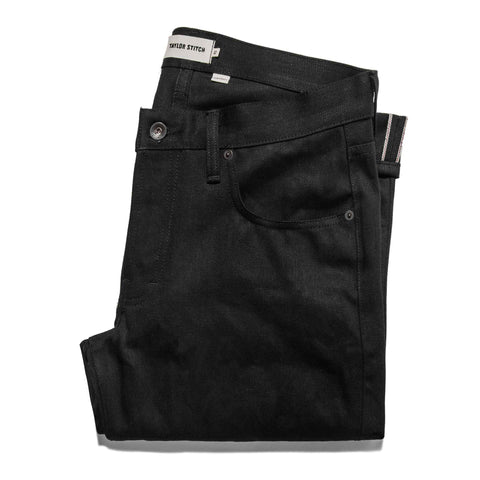The Slim Jean in Kuroki Mills Black Selvage - featured image