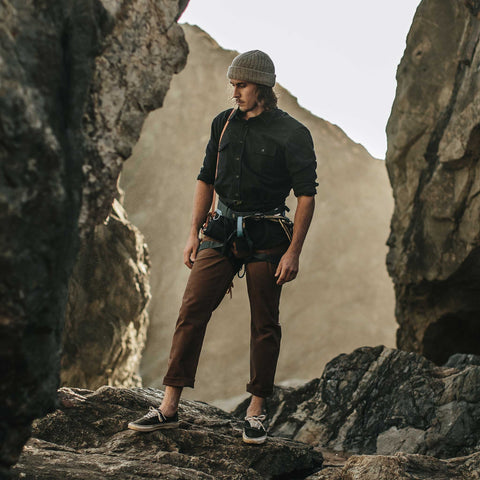 The Camp Pant in Washed Timber - alternate view