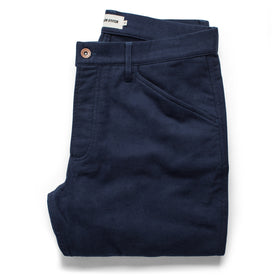 The Camp Pant in Navy Moleskin: Featured Image