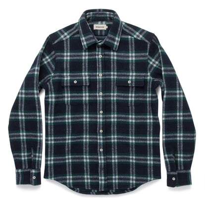 The Leeward Shirt in Navy Tartan: Alternate Image 7