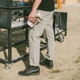 The Chore Pant in Washed Ash: Alternate Image 1