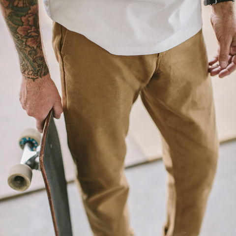 The Democratic Chino in British Khaki - alternate view
