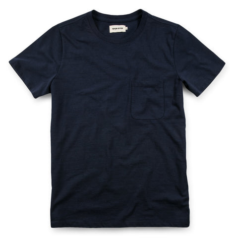 The Heavy Bag Tee in Navy - featured image