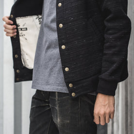The Bomber in Black Fleece: Alternate Image 3