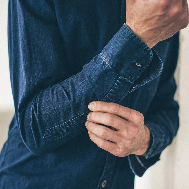 The Mechanic in Washed Indigo
