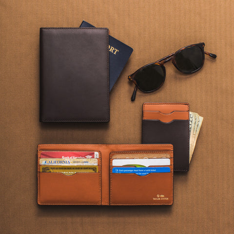 The Minimalist Billfold Wallet in Brown - alternate view