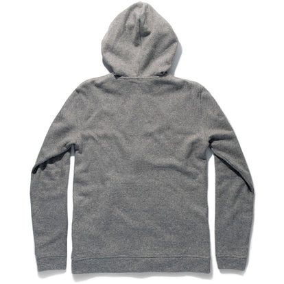 The Après Hoodie in Olive Stripe Hemp Fleece: Alternate Image 9
