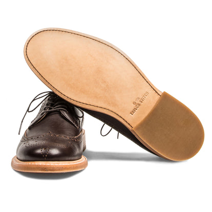 The Brogue in Espresso Leather: Alternate Image 4