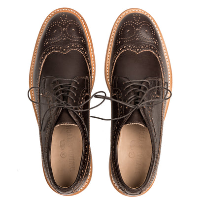 The Brogue in Espresso Leather: Alternate Image 5
