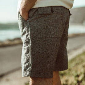 The Camp Short in Slub Chambray: Alternate Image 2