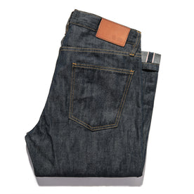 The Slim Jean in Kurabo Slub Denim: Alternate Image 7