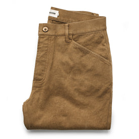 The Camp Pant in British Khaki Boss Duck - featured image