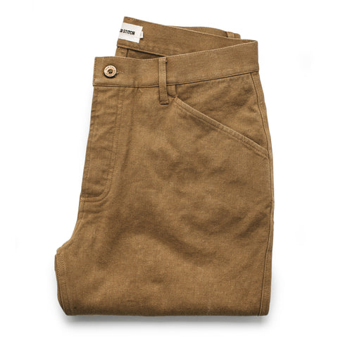 The Camp Pant in British Khaki Tuff Duck - featured image