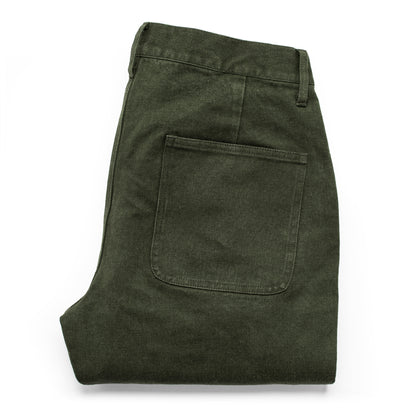 The Camp Pant in Dark Olive Tuff Duck: Alternate Image 13
