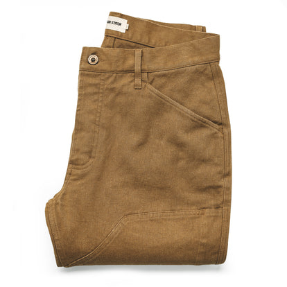 The Chore Pant in British Khaki Boss Duck: Featured Image
