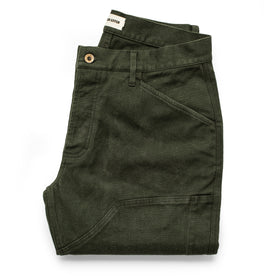 The Chore Pant in Dark Olive Boss Duck - featured image