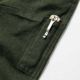 The Chore Pant in Dark Olive Boss Duck: Alternate Image 11