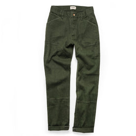 The Chore Pant in Dark Olive Boss Duck: Alternate Image 12