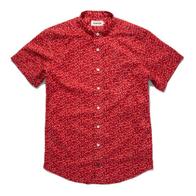 The Short Sleeve Bandit in Red Mini Floral: Featured Image