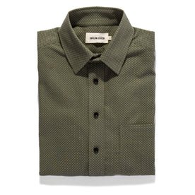 The California in Olive Jacquard - featured image