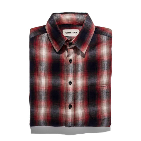The California in Red Shadow Plaid - featured image