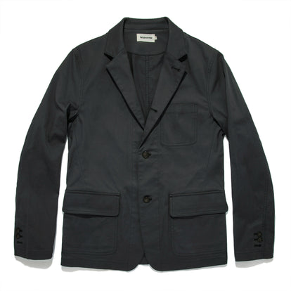The Gibson Jacket in Charcoal: Featured Image