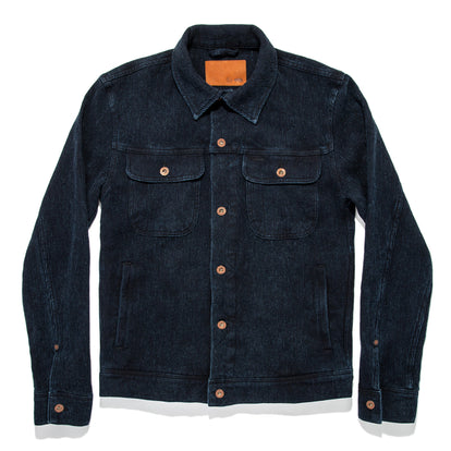 The Long Haul Jacket in Indigo Waffle: Featured Image