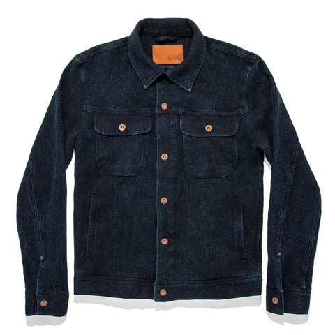 The Long Haul Jacket in Indigo Waffle - featured image