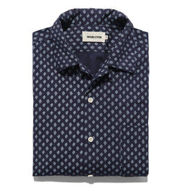 The Short Sleeve Hawthorne in Navy Floral: Alternate Image 5