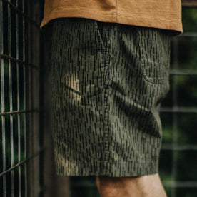 The Après Short in Rain Drop Camo: Alternate Image 2