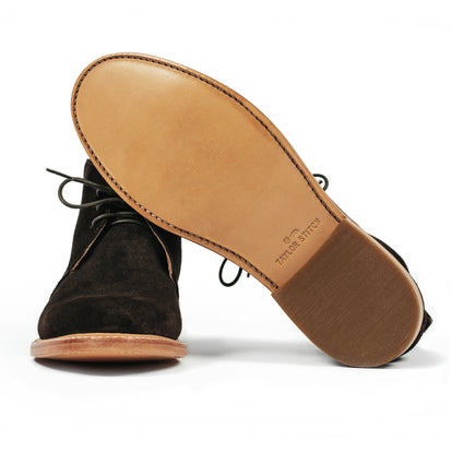 The Chukka in Weatherproof Chocolate Suede: Alternate Image 4