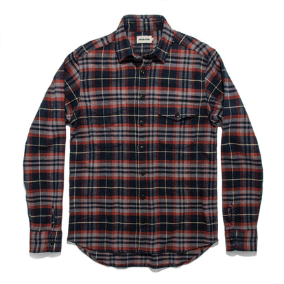 The Crater Shirt in Burgundy Plaid: Alternate Image 8