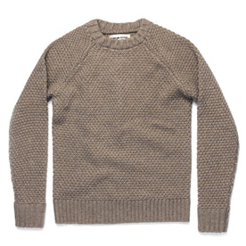 The Fisherman Sweater in Natural Melange - featured image