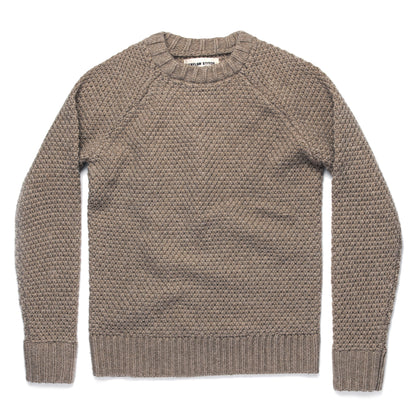 The Fisherman Sweater in Natural Melange: Featured Image