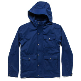 The Hawkins Jacket in Cobalt: Featured Image