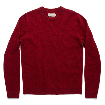 The Lodge Sweater in Cardinal: Featured Image
