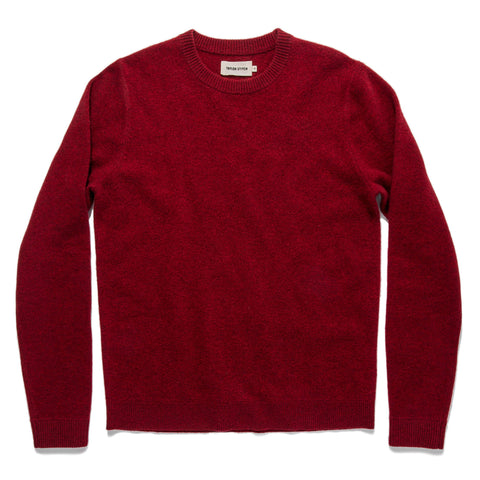 The Lodge Sweater in Cardinal - featured image