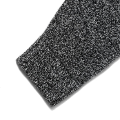 The Lodge Sweater in Charcoal: Alternate Image 7
